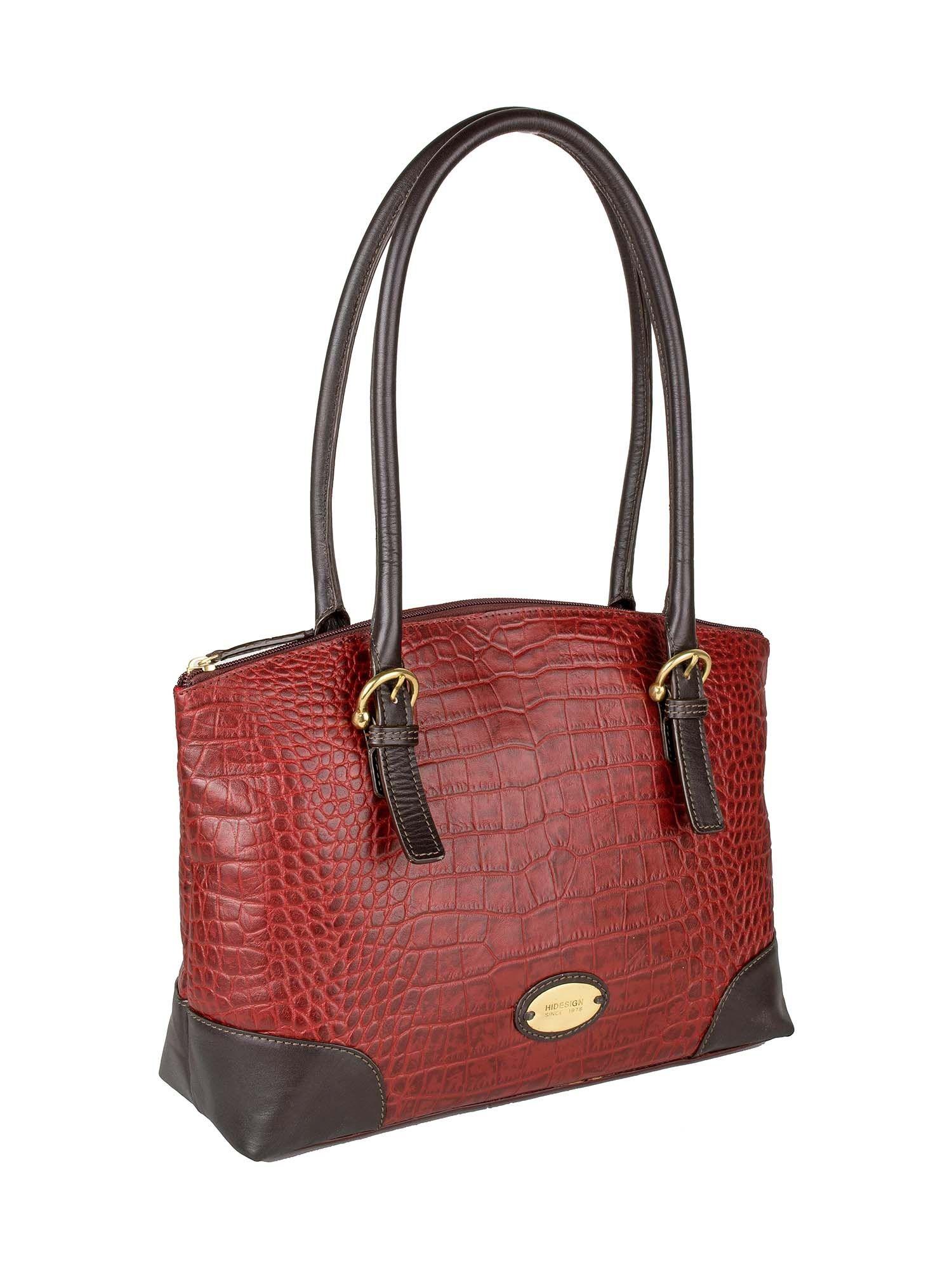 62fe852bf137 Hidesign Saturn 01 Sb Red Women's Handbag