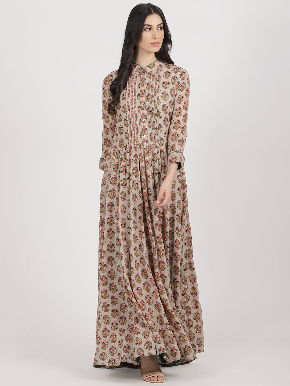 2d57761570b Ritu Kumar Kurtis Kurtas and Tunics   Buy Ritu Kumar Grey Paisley ...