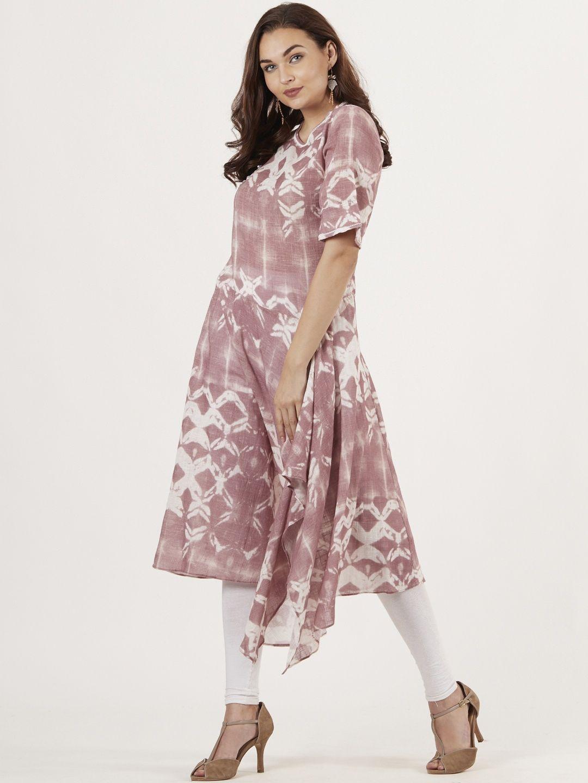 dded2af57a Ritu Kumar Kurtis Kurtas and Tunics : Buy Ritu Kumar Rose Ori Print ...