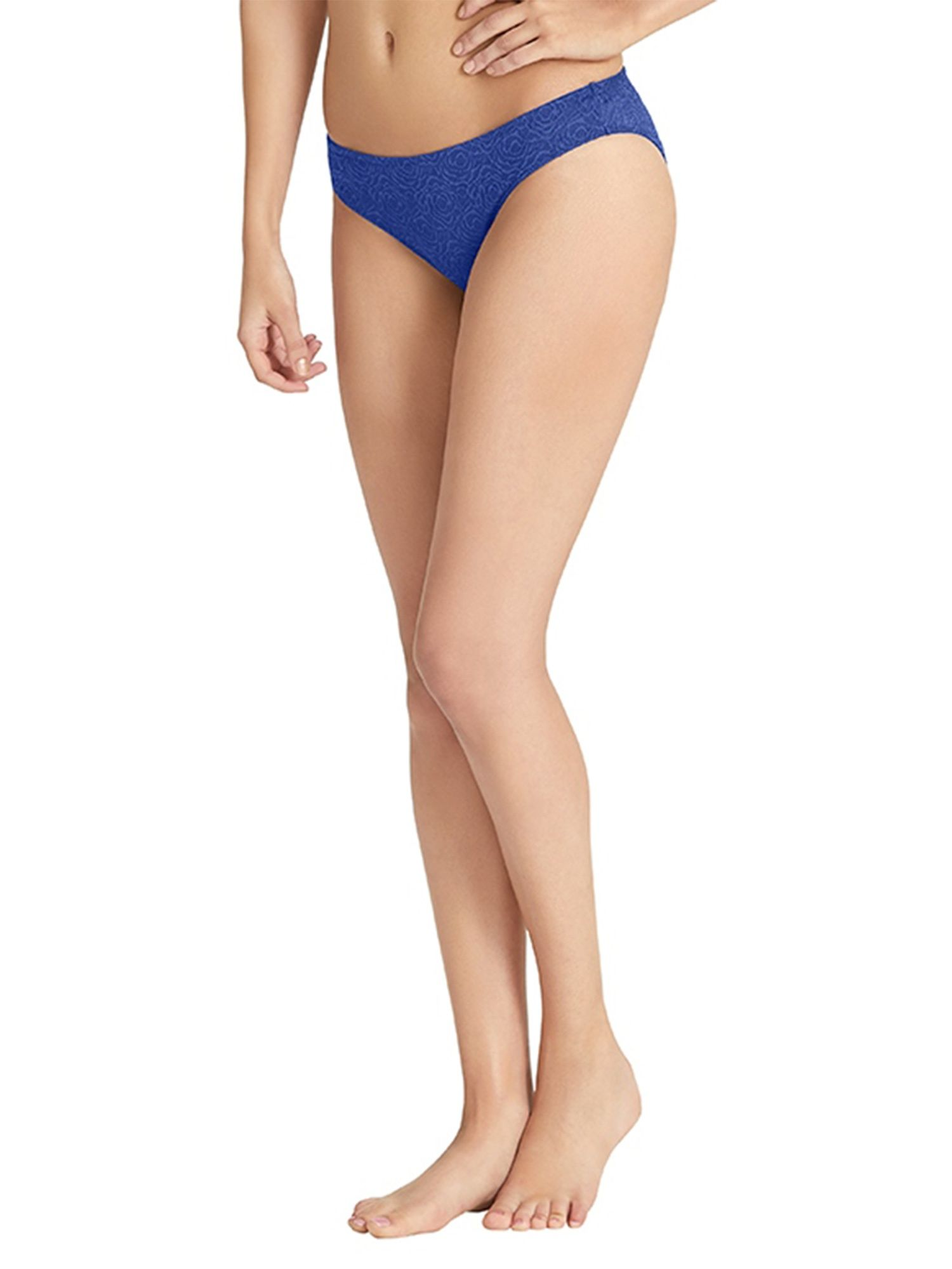 0fd054b7053c Amante Panty : Buy Amante Smooth Romance Low-Rise Bikini - Blue ...