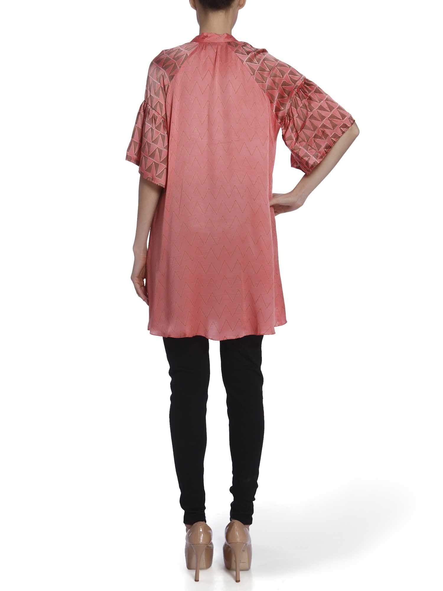 658065482b Anupamaa Dayal Shirts Tops and Crop Tops : Buy Anupamaa Dayal Silk Top With  Bell Sleeves Online | Nykaa Design Studio.