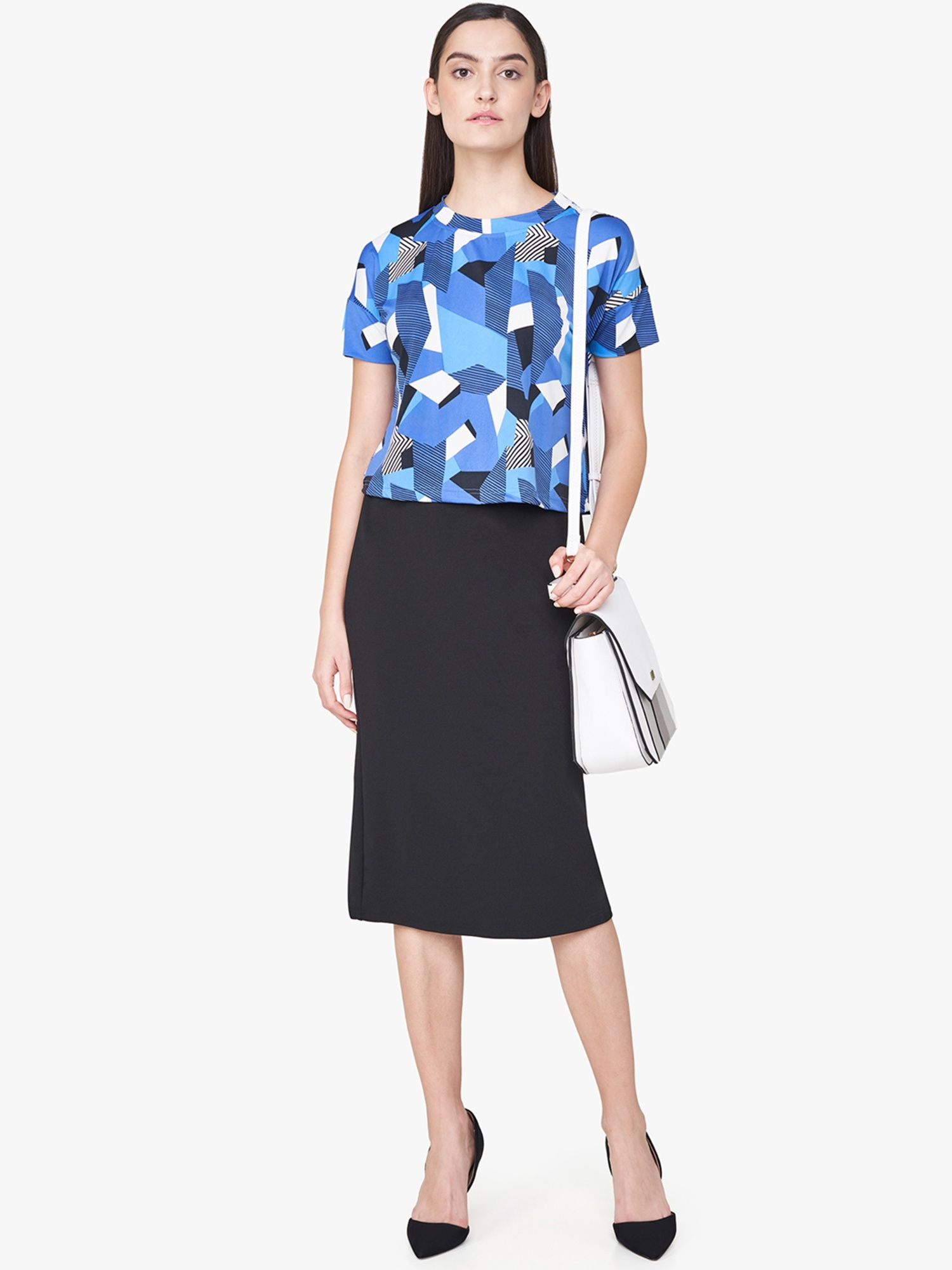 3f4ddba6a542 AND Skirts : Buy AND Black Midi Skirt Online | Nykaa Fashion.