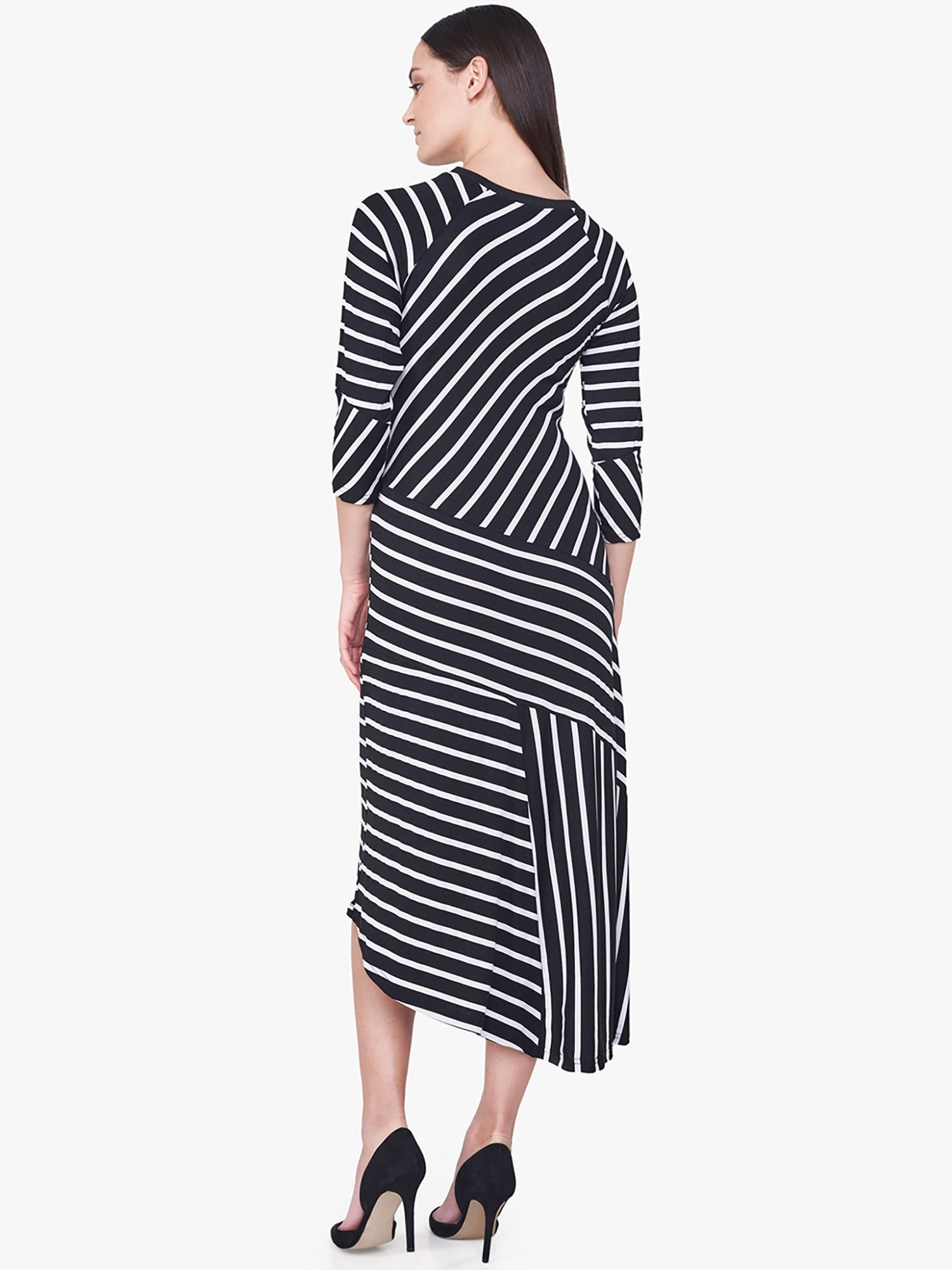 d751180cfa AND Dresses   Buy AND Striped Flounce Midi Dress Online