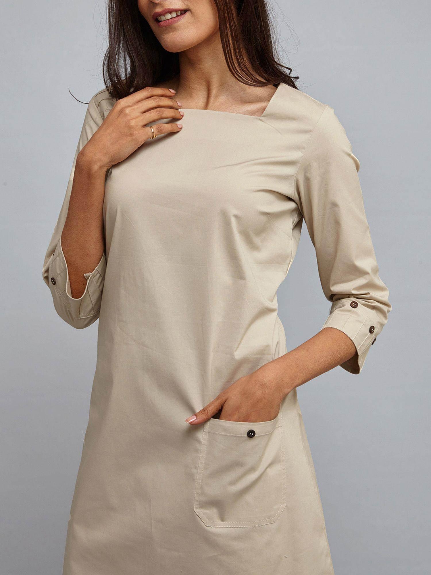 8265c9e25c FableStreet Dresses   Buy FableStreet Rectangular Neck A Line Dress ...