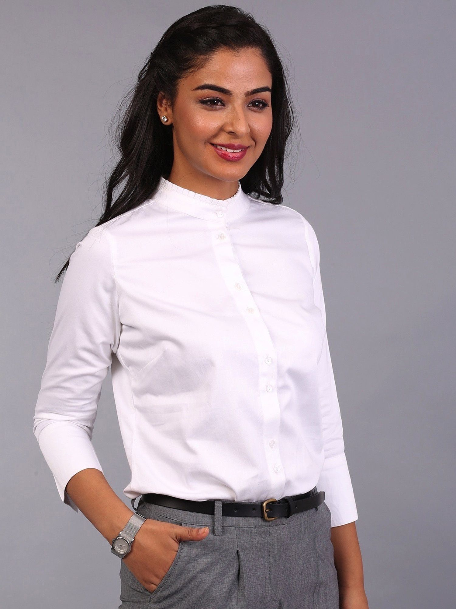 3699e8eb075 FableStreet Shirts Tops and Crop Tops : Buy FableStreet Frill ...