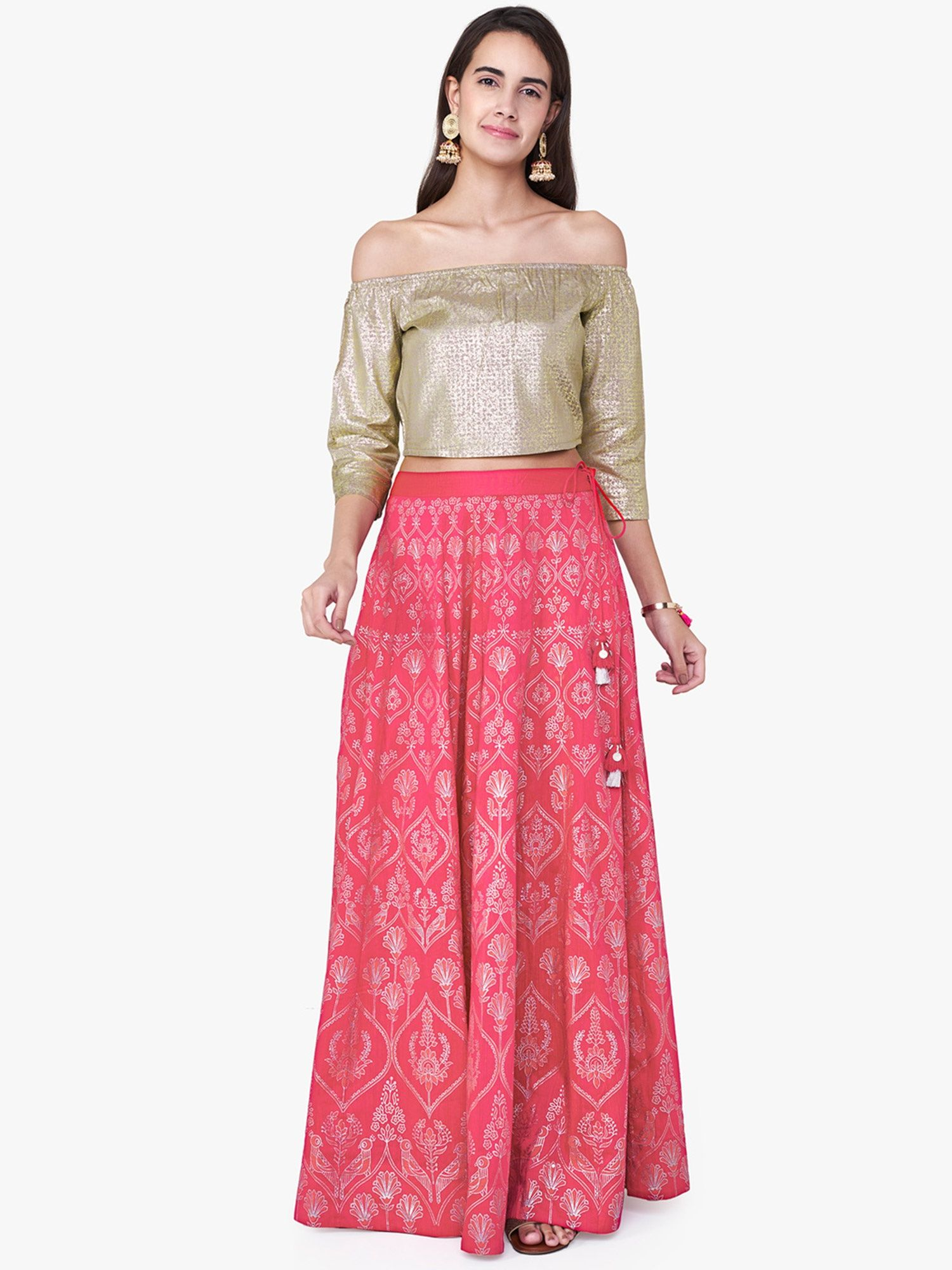 36b5f0b220 Floral Maxi Skirts Online India