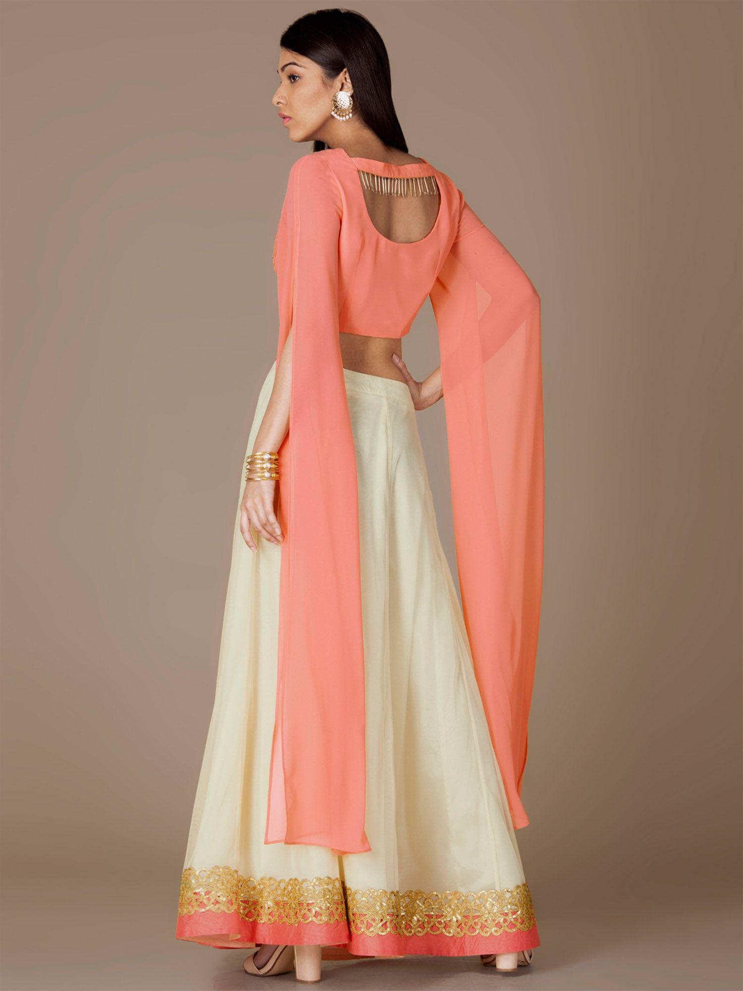 17be4acfaf Indya Shirts Tops and Crop Tops : Buy Indya Coral Sequin Crop Top ...