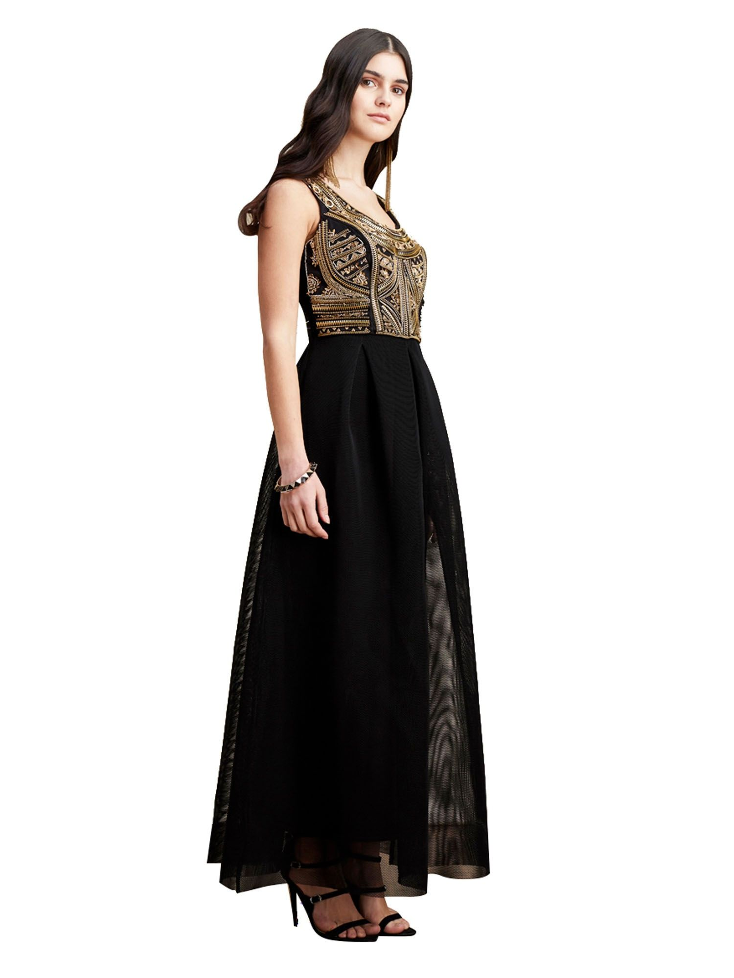 c12f7a3cb1aab Black And Gold Dress Online Shopping – DACC