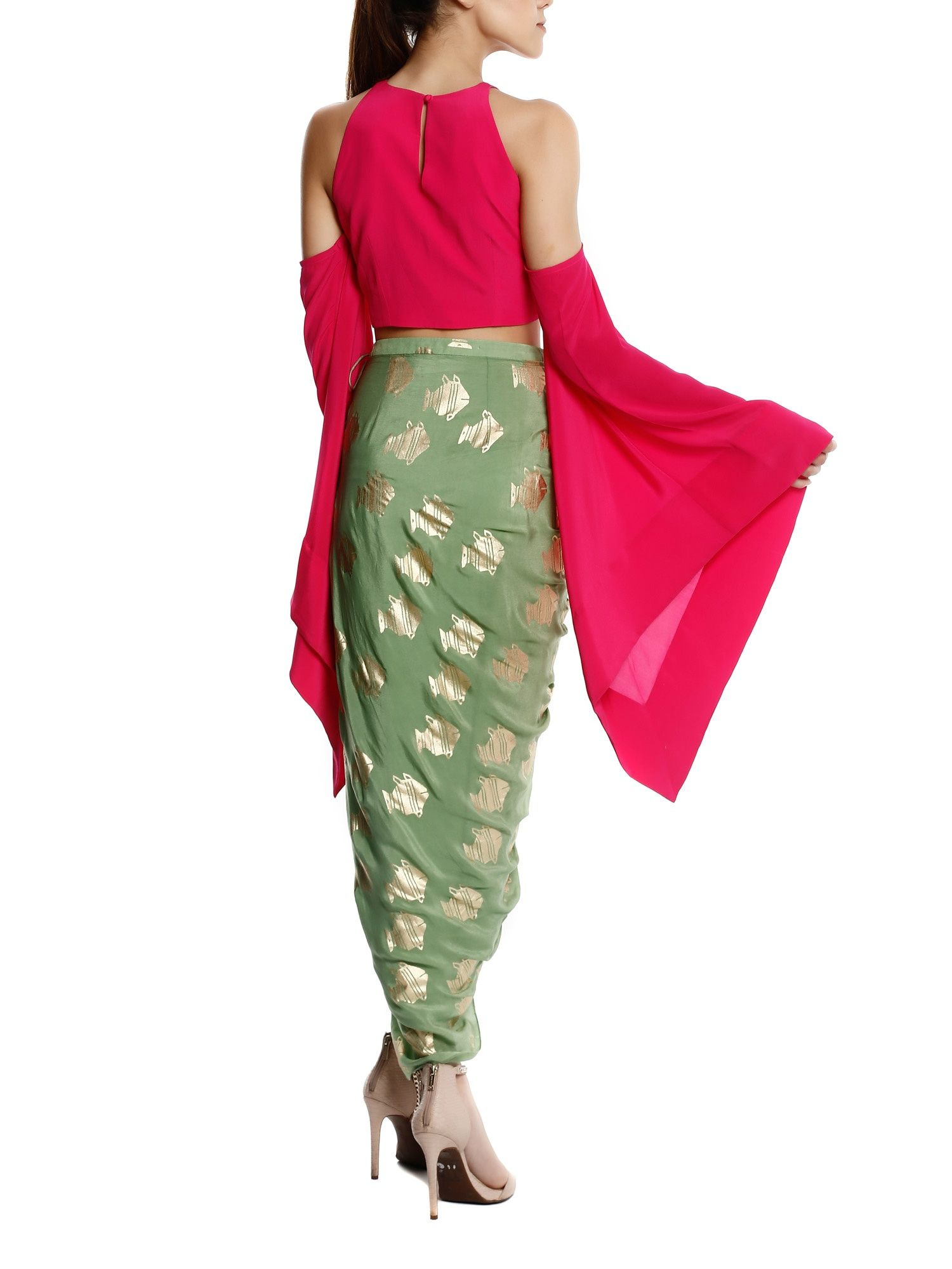 98b9b2be3ed642 Masaba Shirts Tops and Crop Tops : Buy Masaba Pink Kalash ...