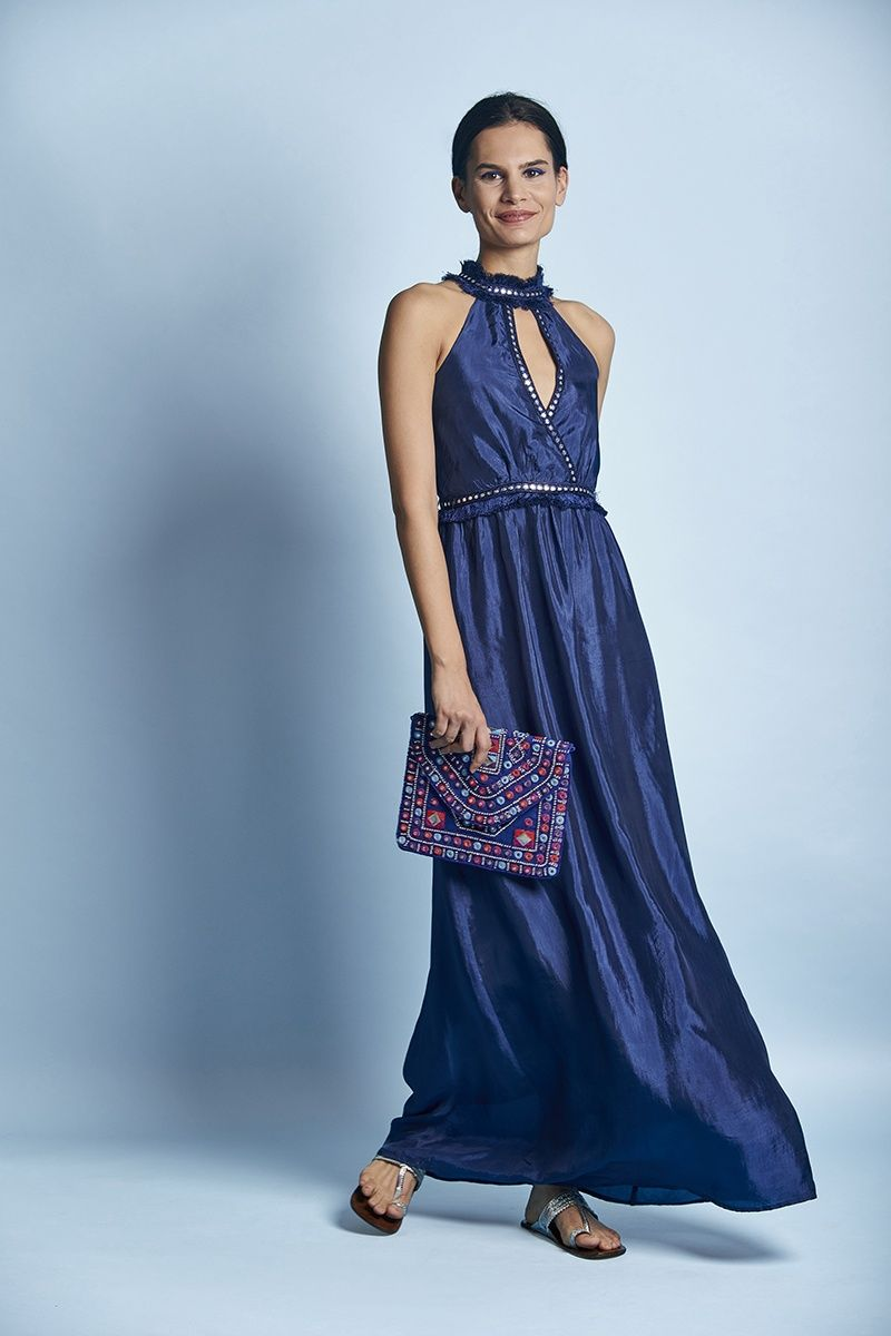 c5be51f623 Monsoon and Beyond Dresses : Buy Monsoon and Beyond Ava: Silk Maxi ...