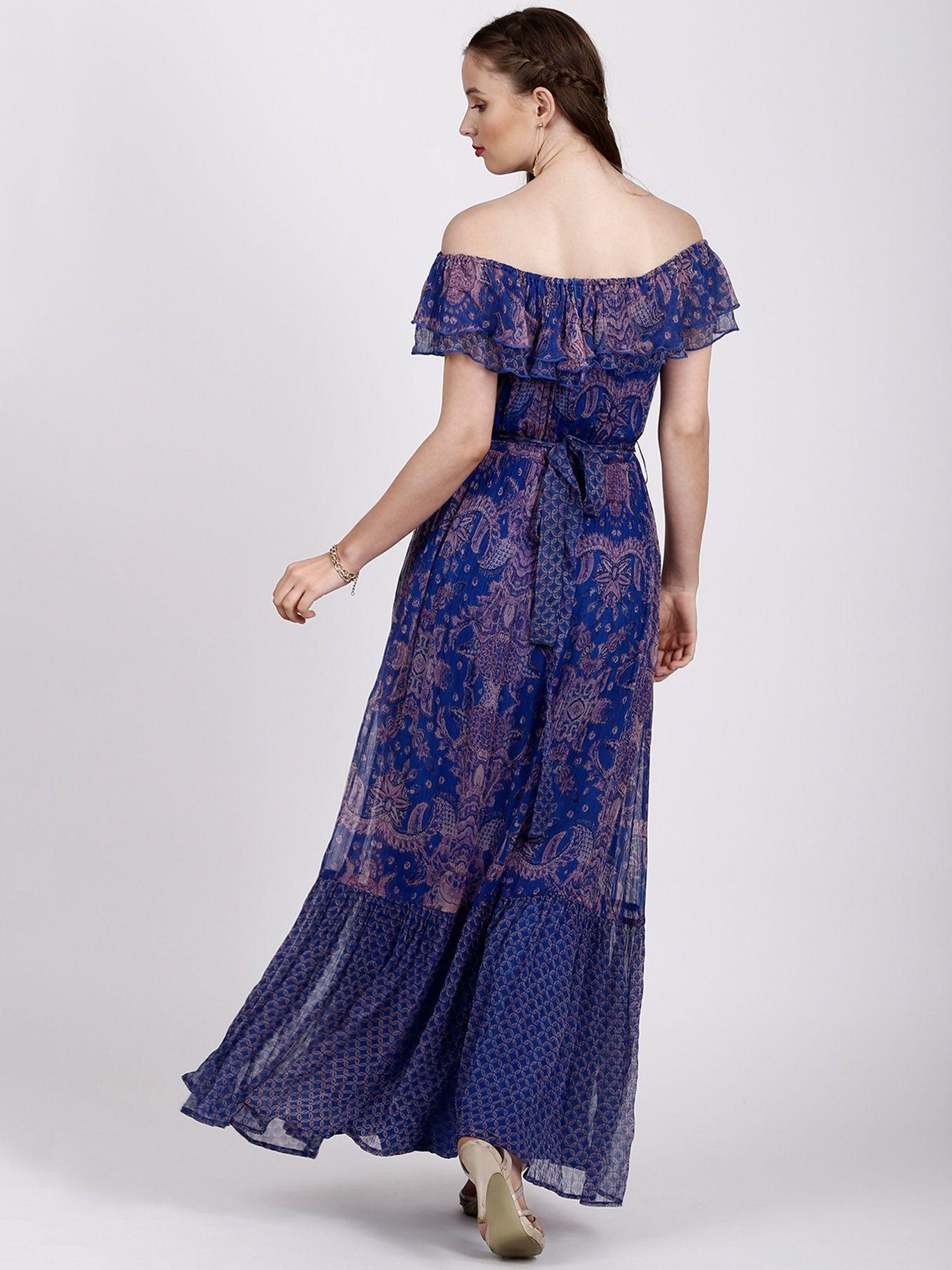 225c039f1283 Label Ritu Kumar Dresses   Buy Label Ritu Kumar Off Shoulder Long ...