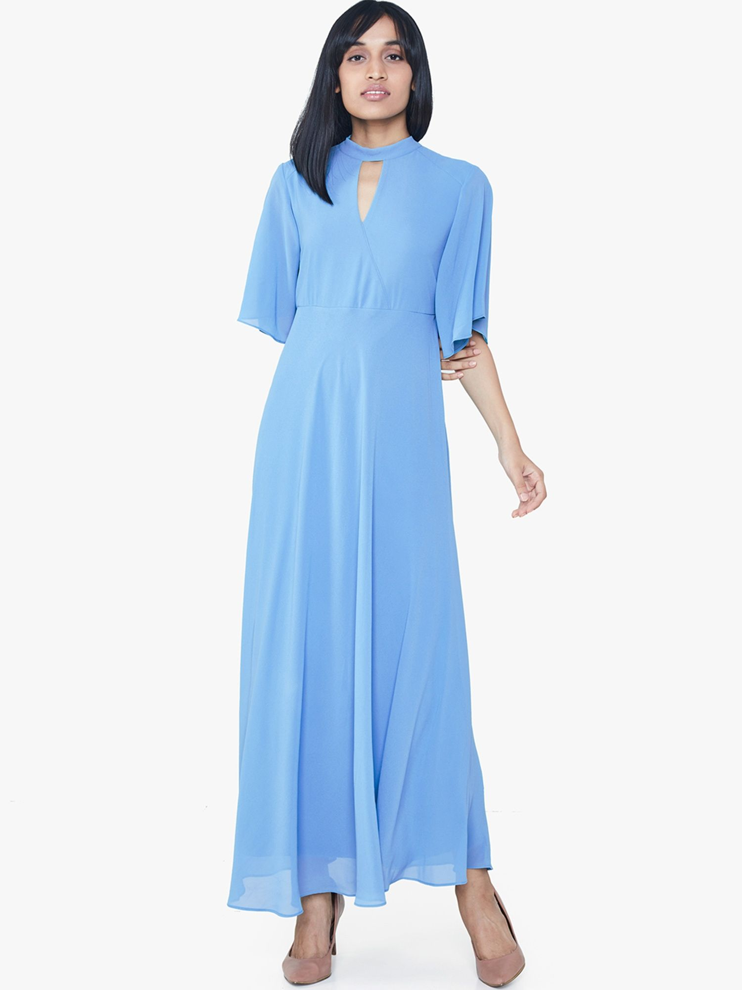 140e306259 AND Gowns   Buy AND Powder Blue Maxi Dress Online