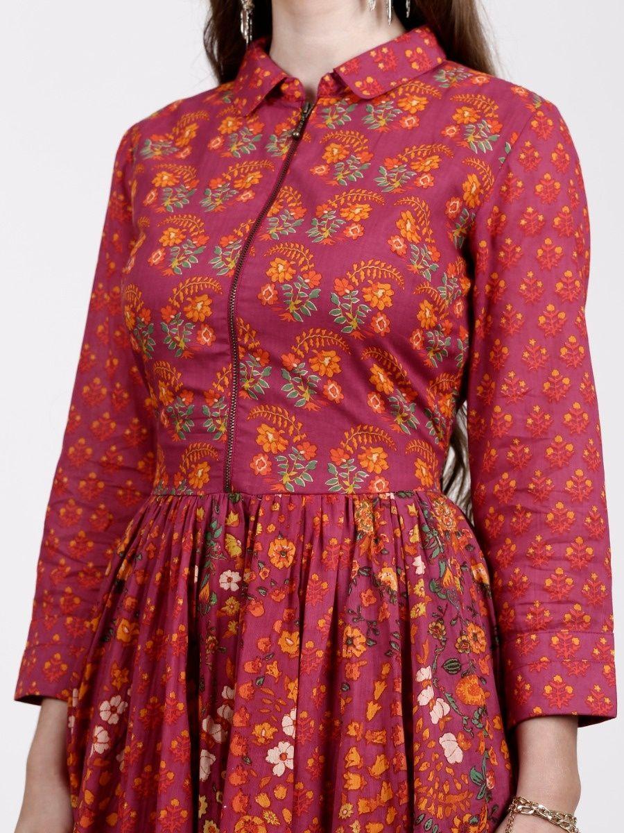 774a08409976 Label Ritu Kumar Dresses   Buy Label Ritu Kumar Collar Neck Short ...
