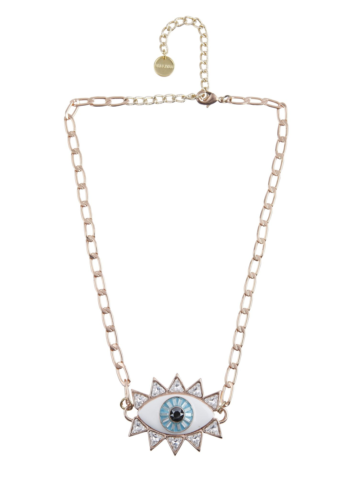 9b6122fb6 Valliyan Necklaces and Chokers : Buy Valliyan Evil Eye Necklace ...