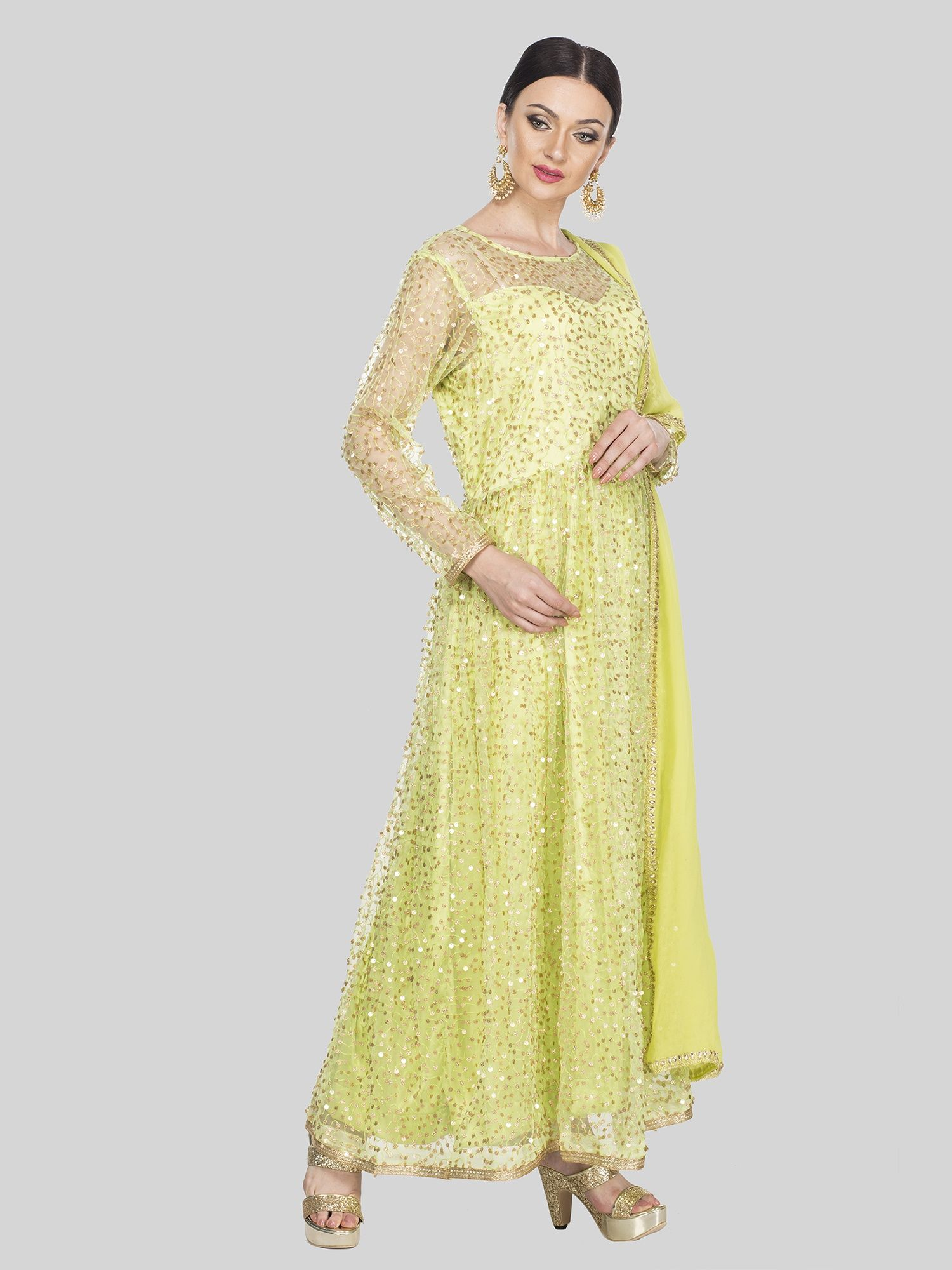 42ffb7c72 Golden Sequin Skirt Online India – DACC