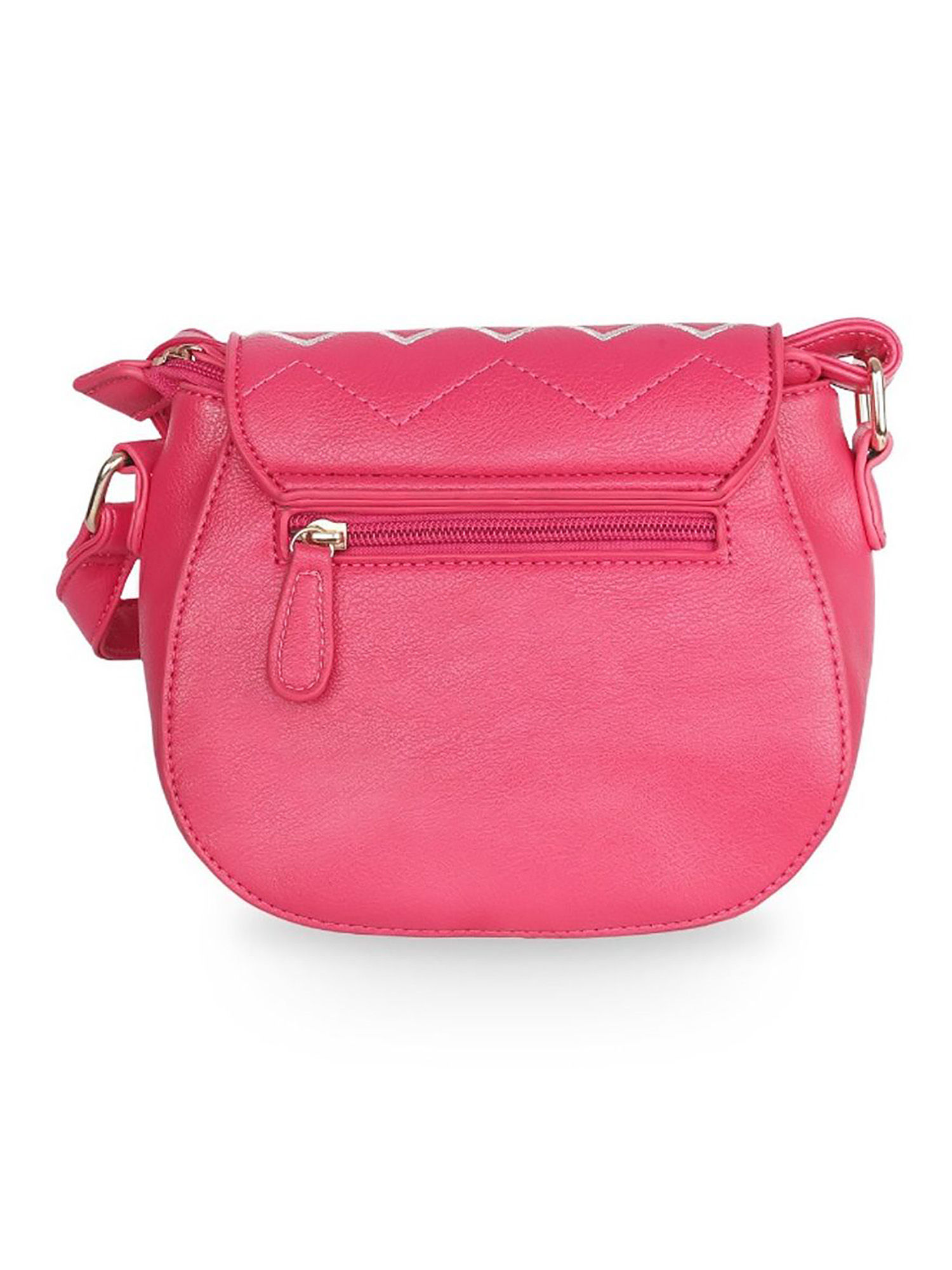 Lavie Sling And Cross Bags Buy Lavie Pink Naziha Csb Chevron Sling Bag Online Nykaa Fashion