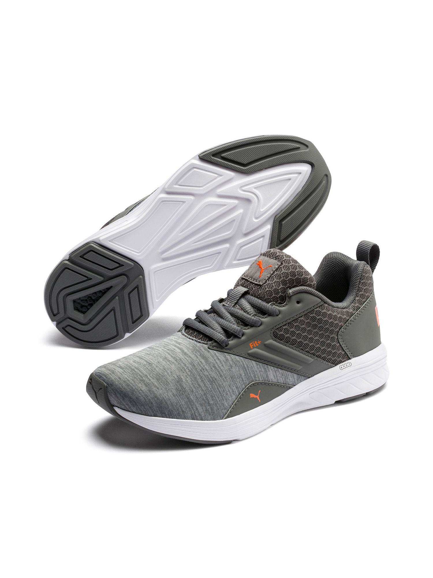 Buy Puma Grey NRGY Comet Junior Shoes