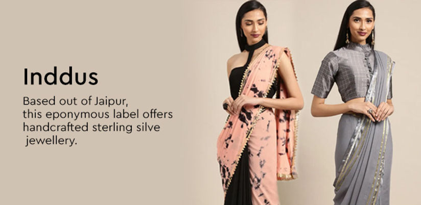 Inddus Buy Latest Inddus Designs Online Nykaa Fashion