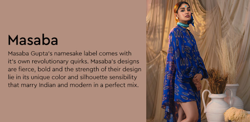 Masaba Gupta Buy Latest Collection Of Masaba Gupta Designs Nykaa Fashion