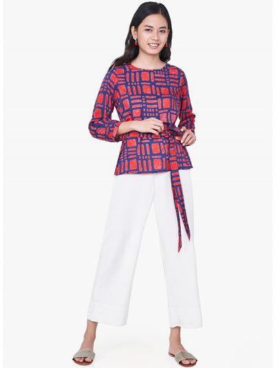Global Desi Shirts Tops and Crop Tops   Buy Global Desi Orange Gypsy ... f6cff8607