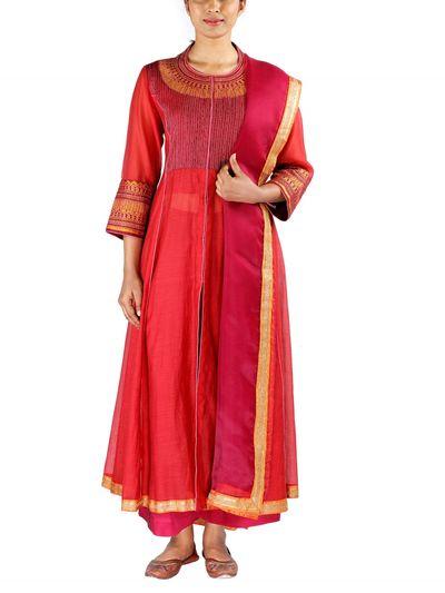 0533e6eca2 Payal Singhal Salwar Suits and Sets : Buy Payal Singhal Maroon ...