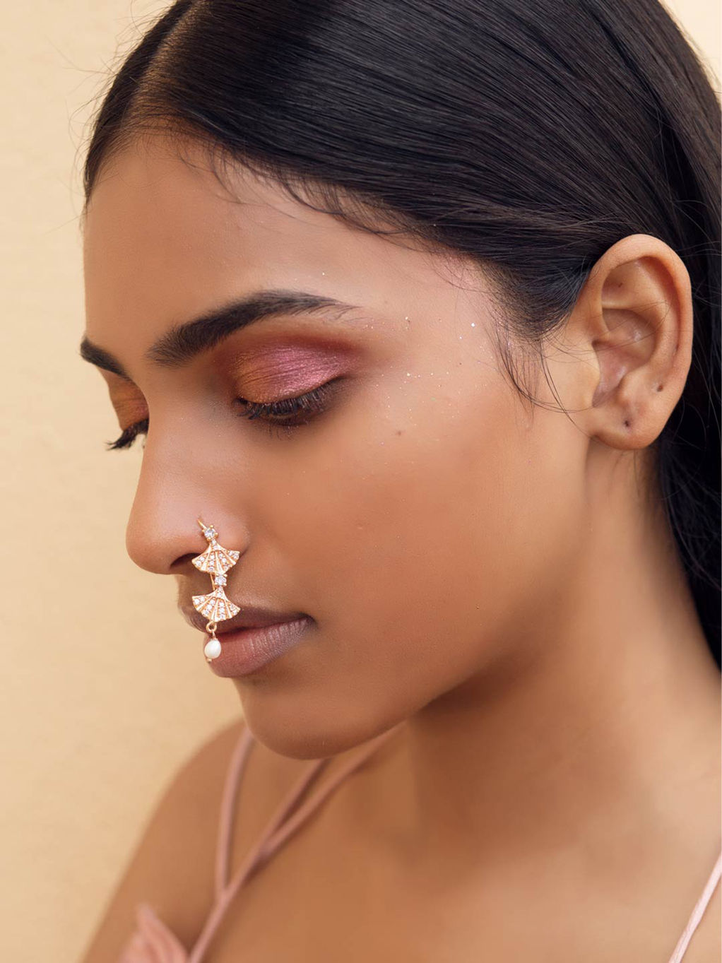 Nose Ring And Nath Online Buy Nose Ring And Nath At Best Prices