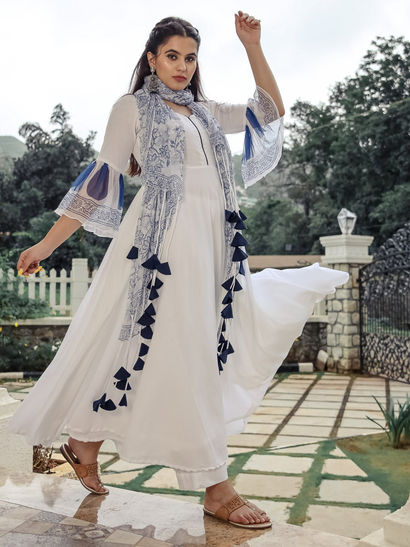 Designer Salwar Suits For Women Shop Latest Designer Salwar Suits Nykaa Fashion