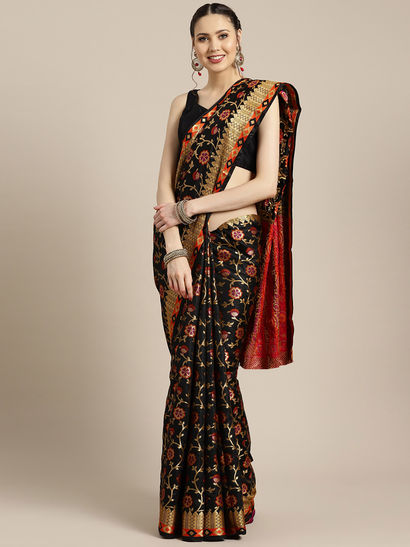 saree dress saree for women awesome saree Amazing Linen silk embroidery work saree with blouse for indian saree
