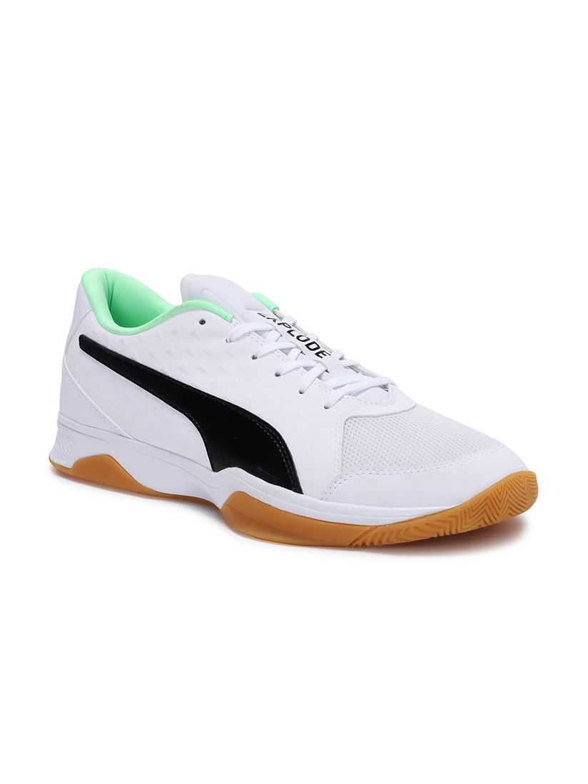 Puma Sports Shoes & Sneakers : Buy Puma White Explode 2 Sneakers ...