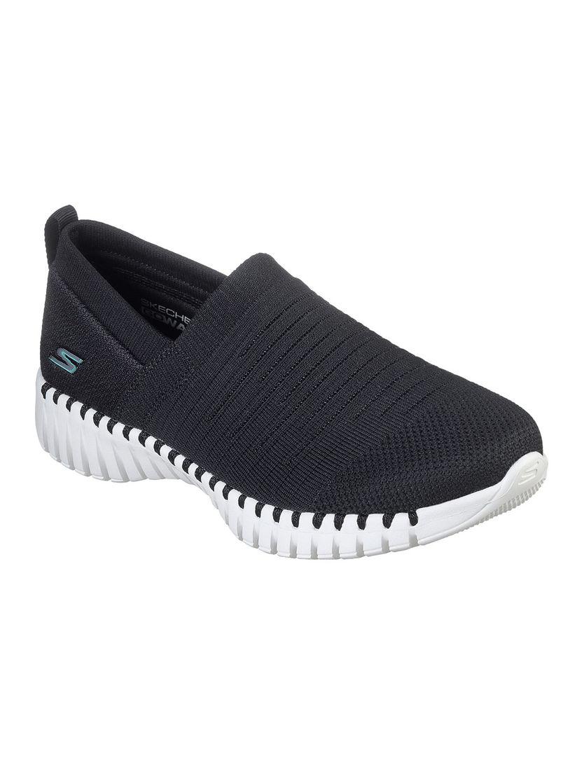 Buy SKECHERS Black Solid Running Shoes