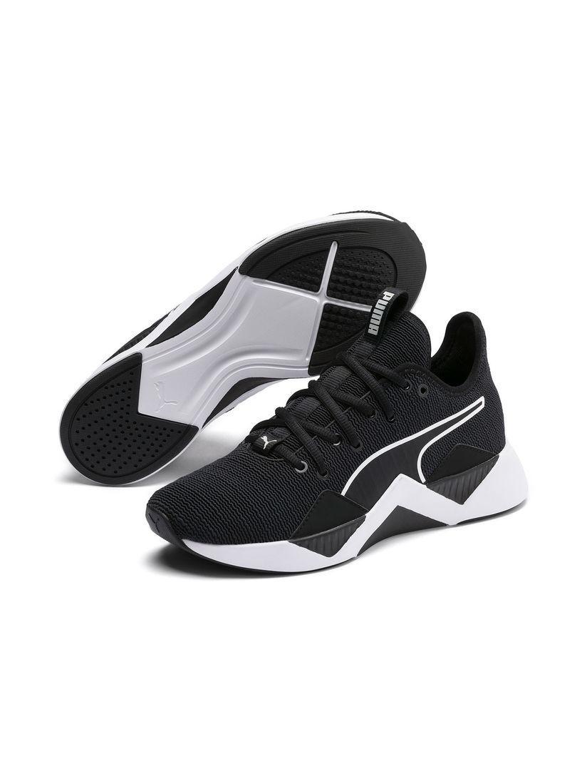Puma Black Incite FS Wave Running Shoes