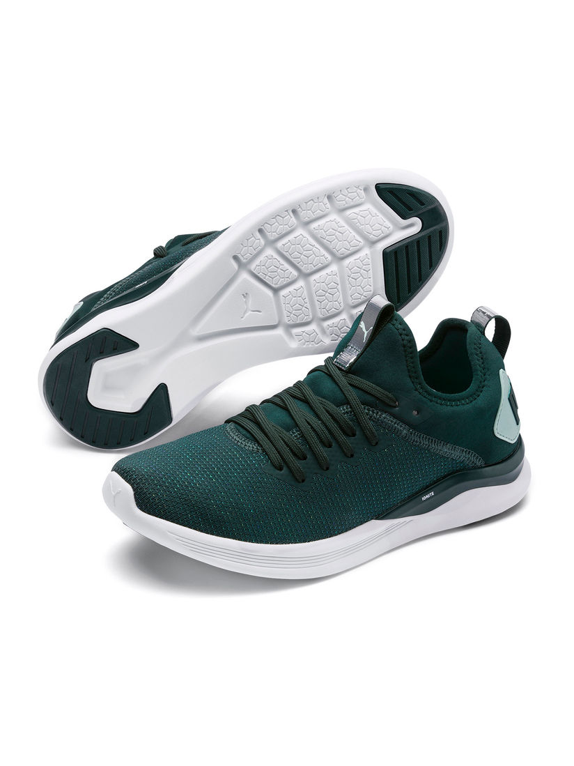 Buy Puma Green IGNITE Flash evoKNIT SR