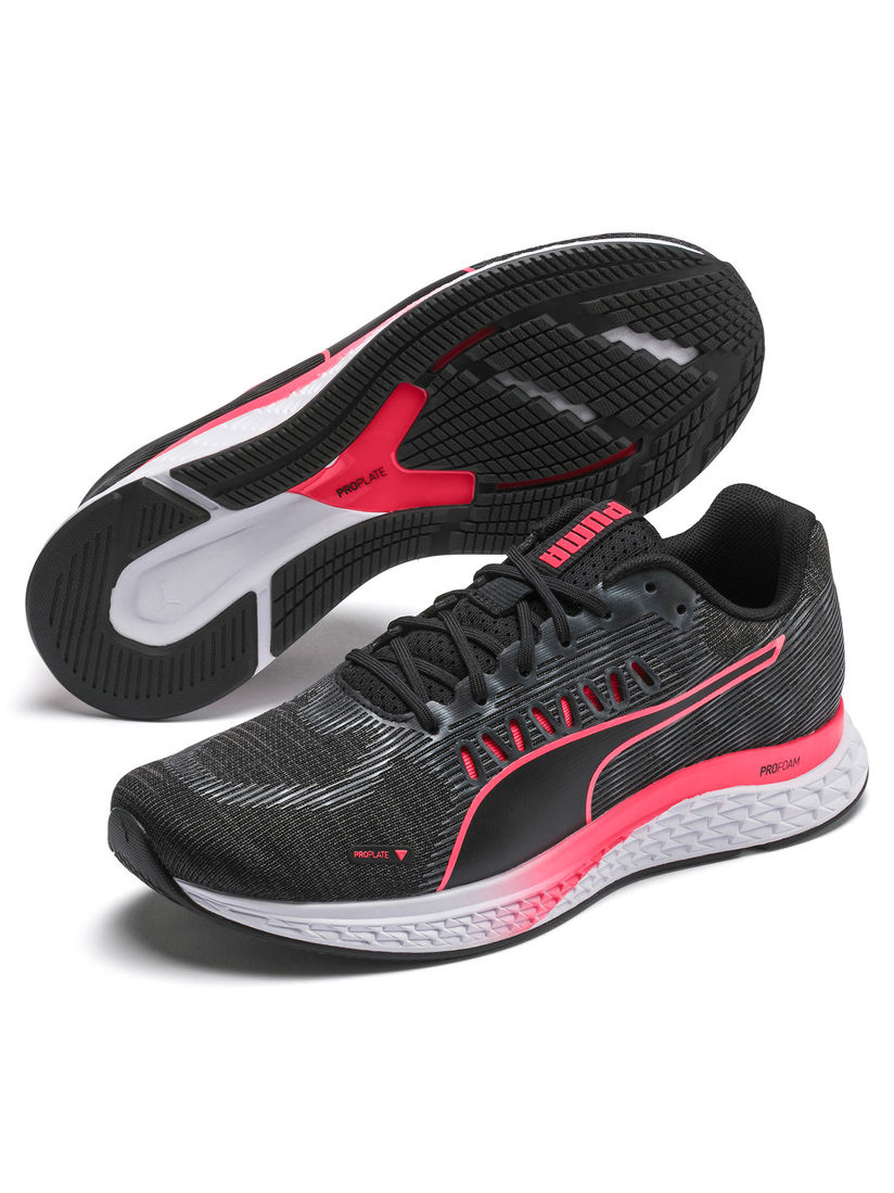Puma Black Speed Sutamina Running Shoes