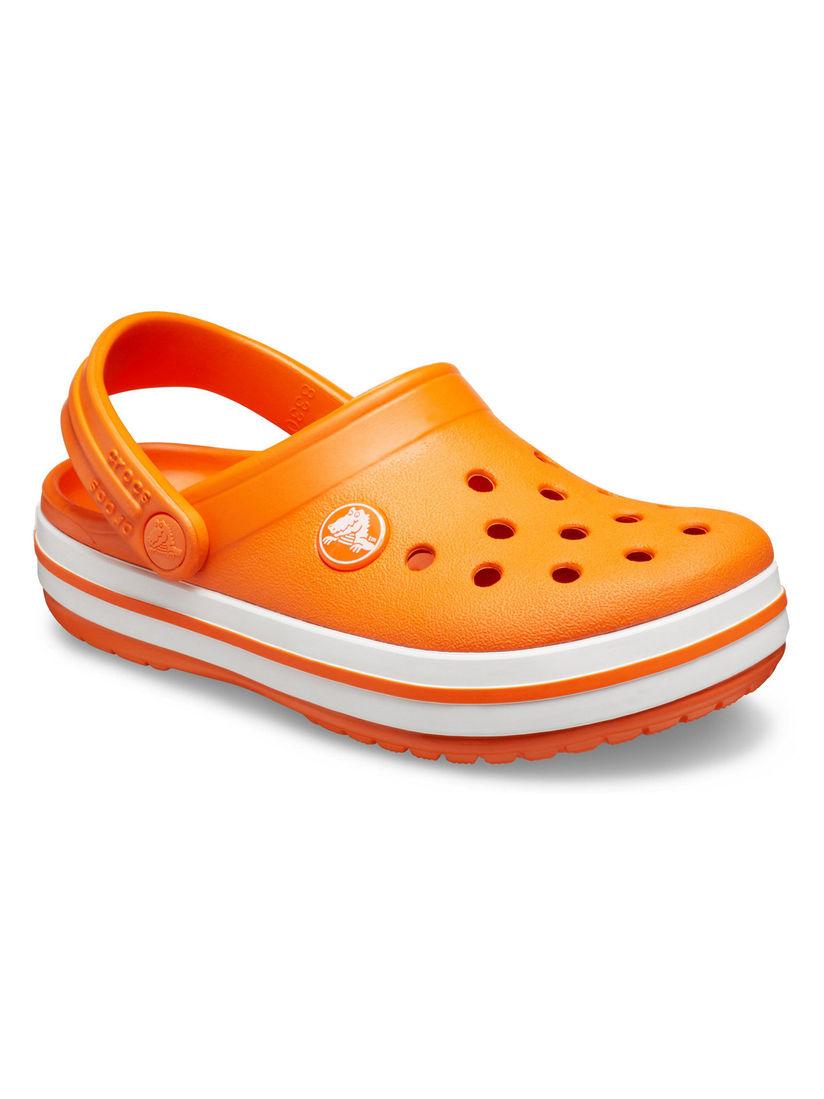 Buy Crocs Orange Detailing Clogs Online