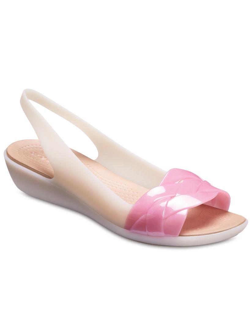 Buy Crocs Pink Isabella Women Sandals
