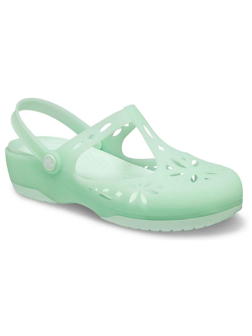 Crocs Sea Green Isabella Women Clogs