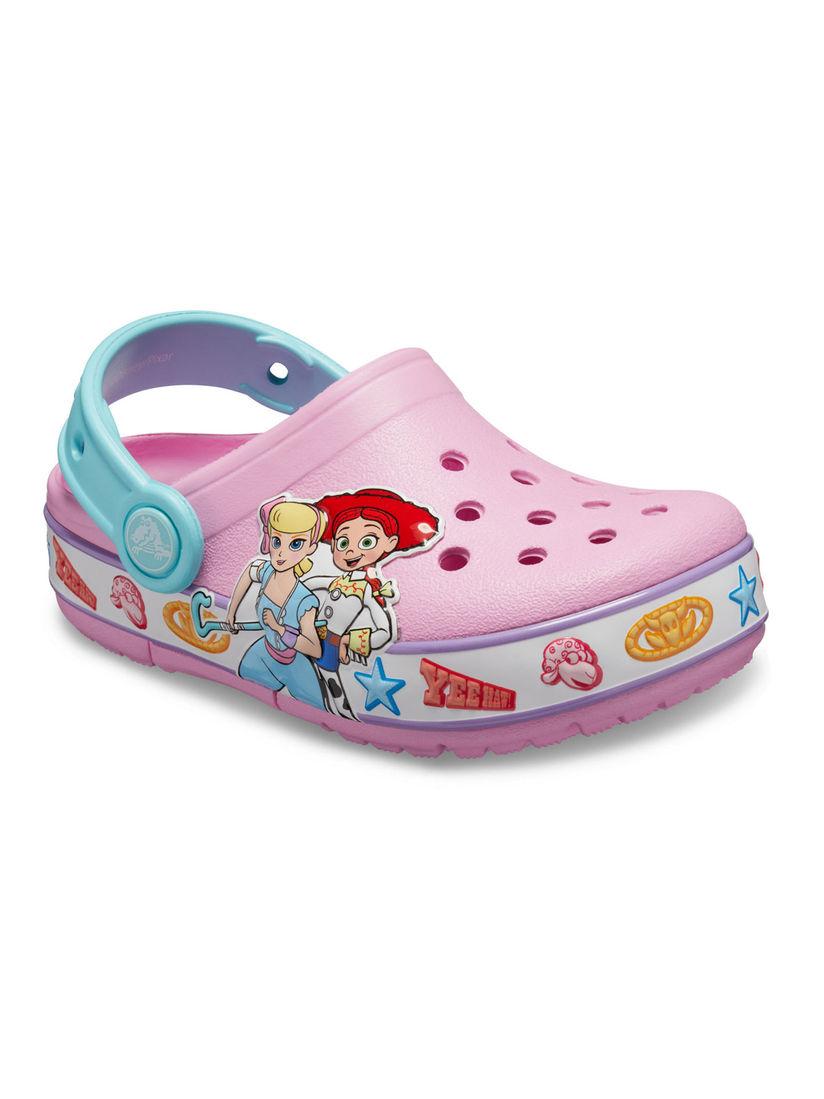 Crocs Pink FunLab Girls Clogs
