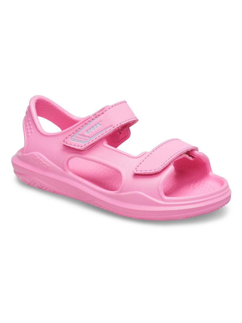 Buy Crocs Pink Swiftwater Unisex Kids
