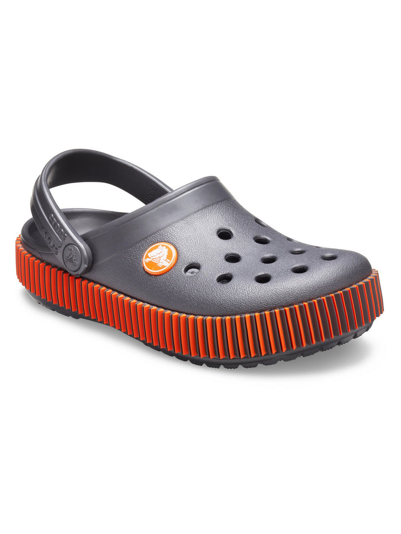 Buy Crocs Grey Crocband Boys Clogs