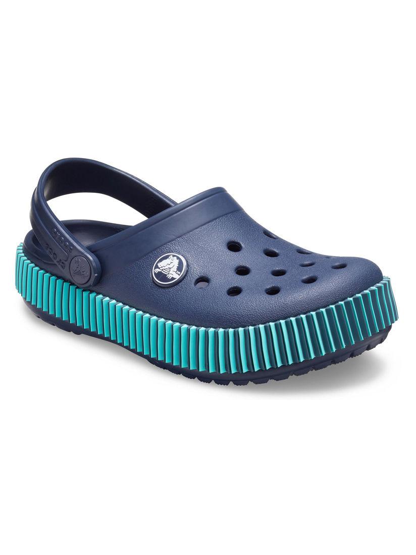 Buy Crocs Navy Blue Crocband Boys Clogs