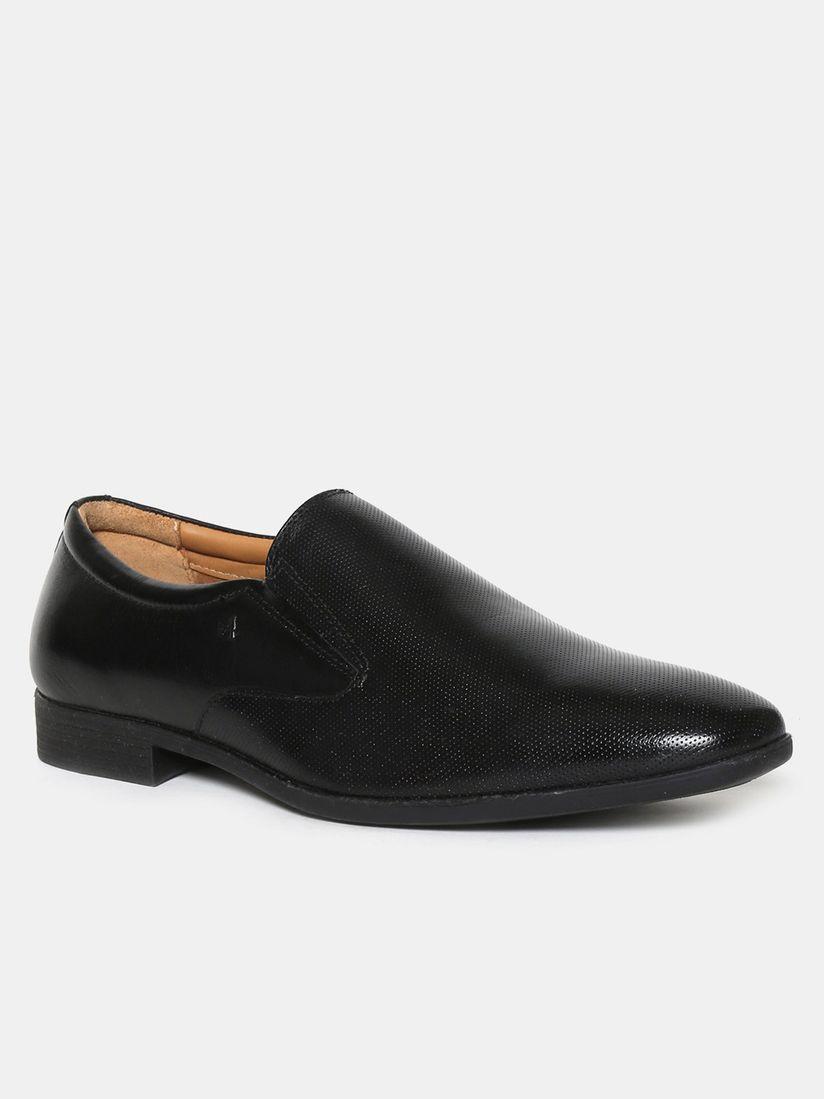 Buy Arrow Albany Black Textured Formal