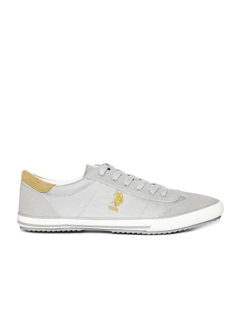 U.S. POLO ASSN. Grey Elmo Casual Shoes