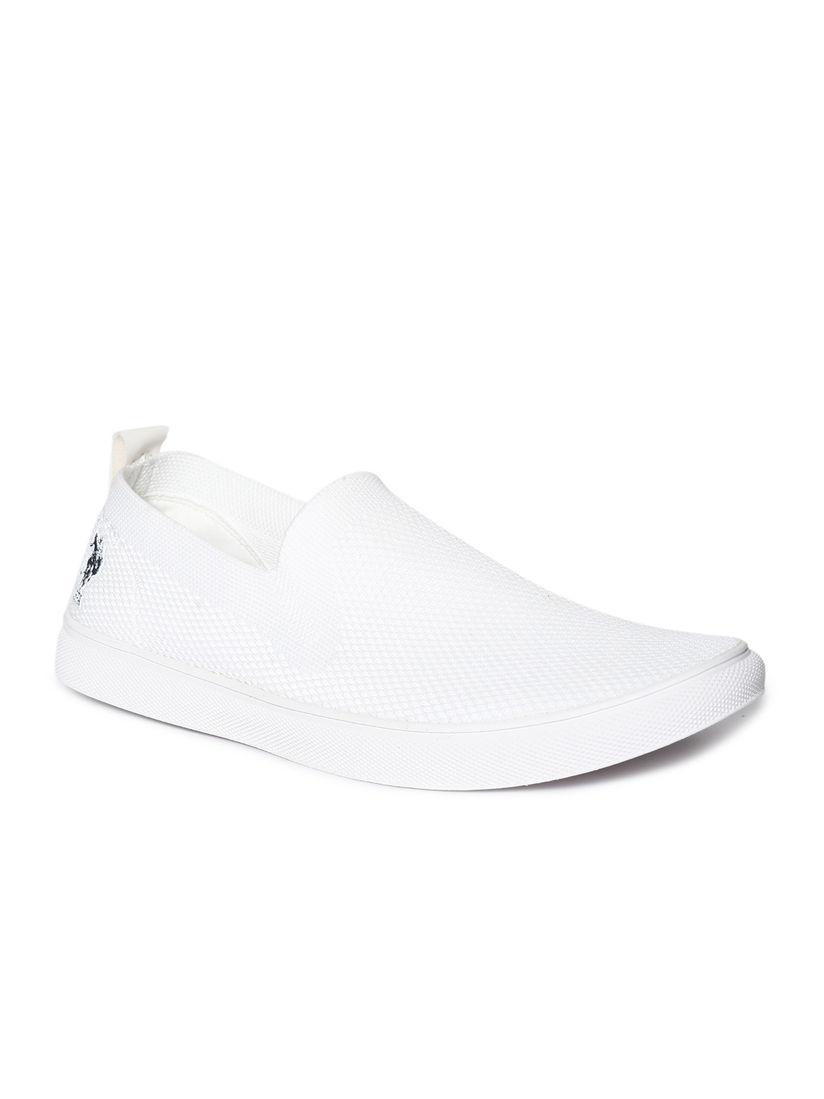 Buy U.S. POLO ASSN. White Nigel Casual