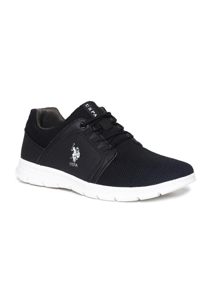 Buy U.S. POLO ASSN. Black Iro Sneakers