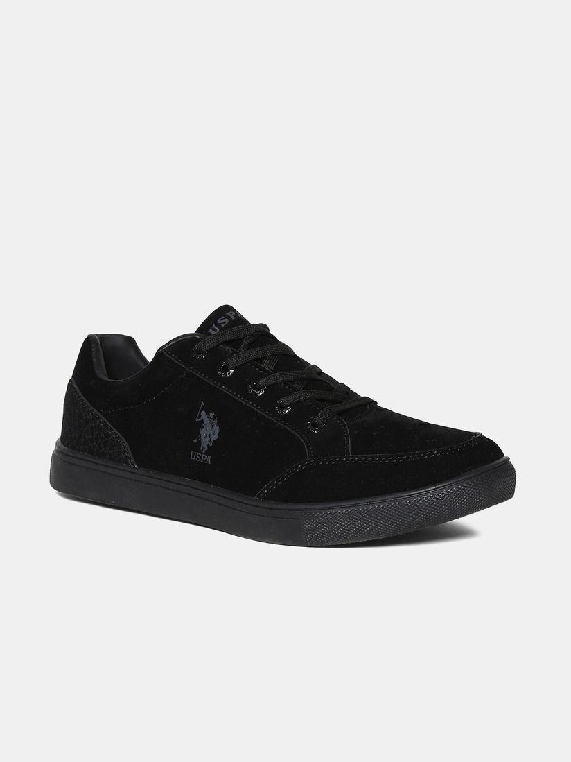 U.S. POLO ASSN. Black Viterbo Sneakers