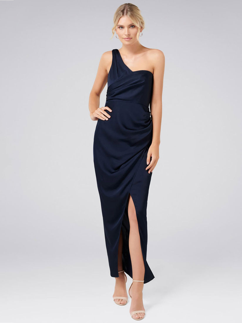 Buy Forever New Camille Asymmetrical One Shoulder Drape Maxi From Forever New Collection At Best Price From Nykaa Fashion You Can Also Explore A Wide Range Of Exclusive Designer Apparel And Accessories From Various Top Designers Here Genuine