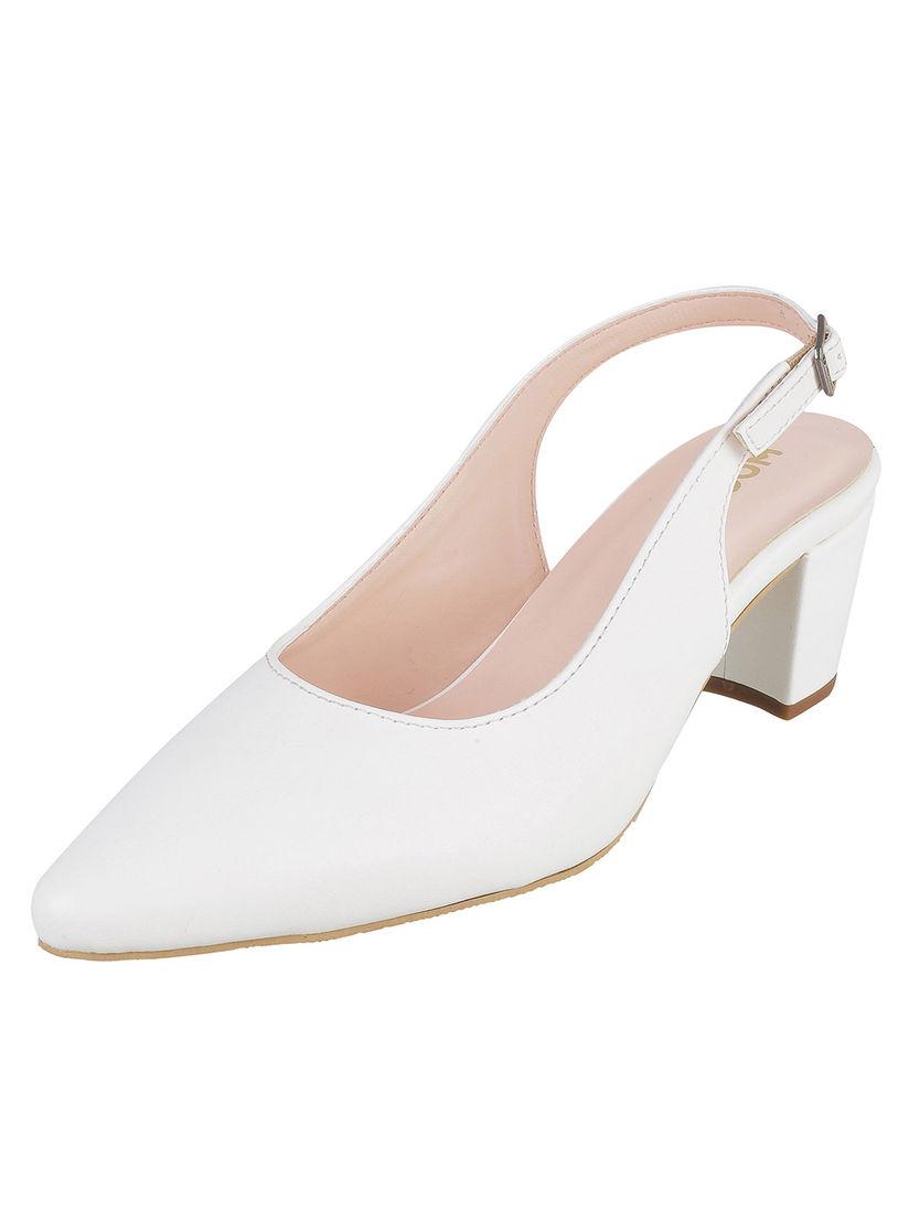 buy white heels online
