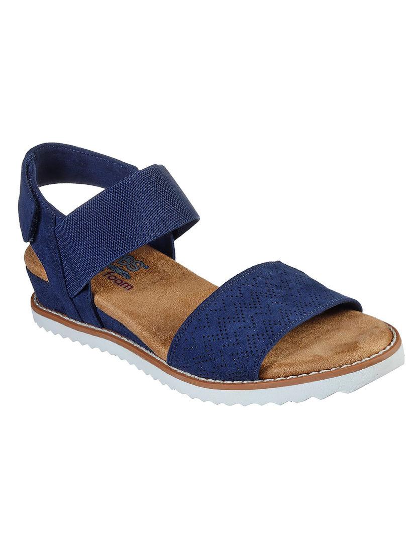 Skechers Navy Blue Desert Kiss Sandals