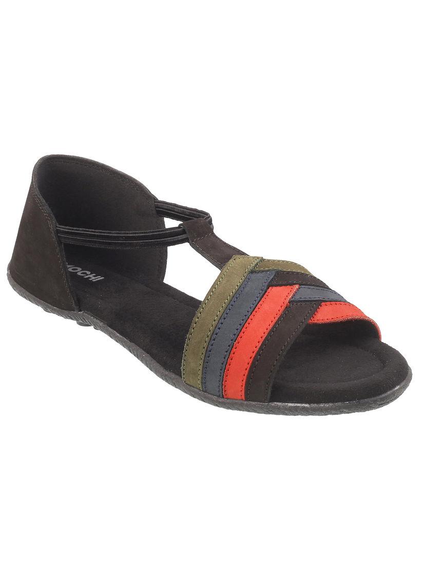 mochi black sandals