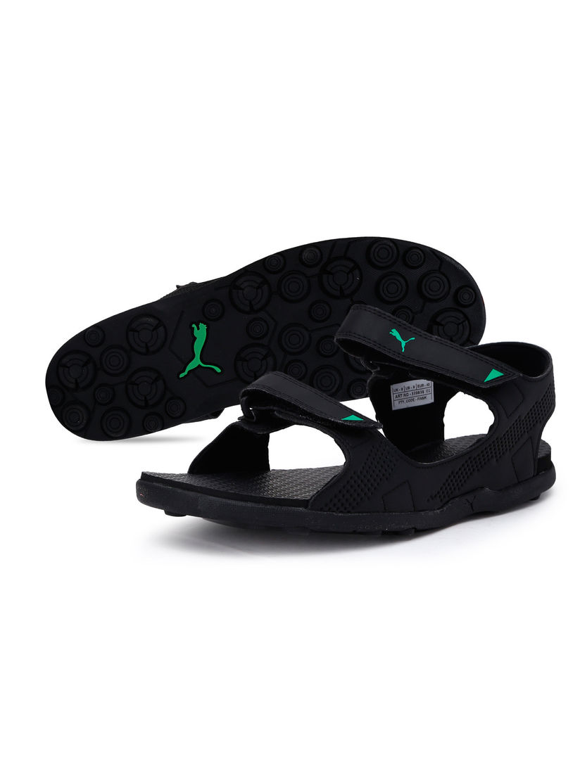 Buy Puma Black Shire IDP Sport Sandals